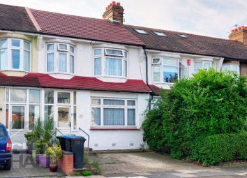Thumbnail 3 bed terraced house for sale in Pevensey Avenue, Bounds Green, London