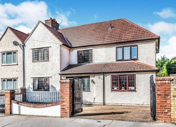Thumbnail 4 bedroom semi-detached house for sale in Denning Avenue, Waddon, Croydon