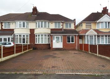 Thumbnail 4 bed semi-detached house for sale in Elm Avenue, Wednesfield, Wolverhampton, West Midlands