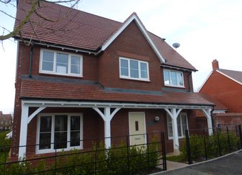Thumbnail 4 bedroom detached house to rent in De Morgan Crescent, Tadpole Garden Village, Swindon