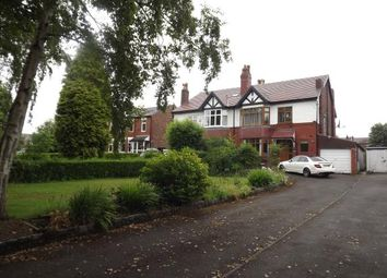 Thumbnail 4 bed semi-detached house for sale in St. Lesmo Road, Stockport, Greater Manchester