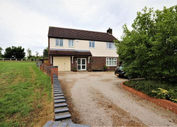 Thumbnail 4 bed detached house for sale in Willesley Road, Ashby-De-La-Zouch