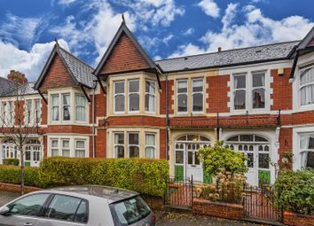 Thumbnail 4 bed terraced house for sale in Llwyn-Y-Grant Terrace, Penylan, Cardiff