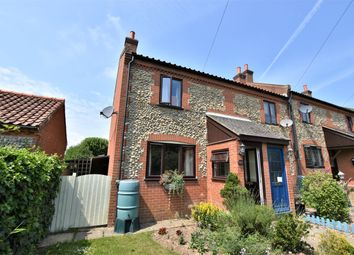 Thumbnail 2 bed end terrace house for sale in Crossdale Street, Northrepps, Cromer