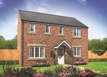 "Thumbnail 3 bed detached house for sale in ""The Clayton"" at Pomphlett Farm Industrial, Broxton Drive, Plymouth"