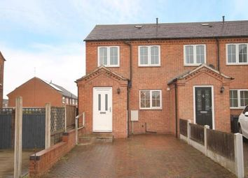 Thumbnail 3 bed town house for sale in John Street, Brimington, Chesterfield, Derbyshire