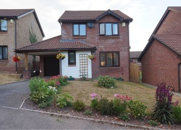 Thumbnail 3 bed detached house for sale in Caer Newydd, Bridgend