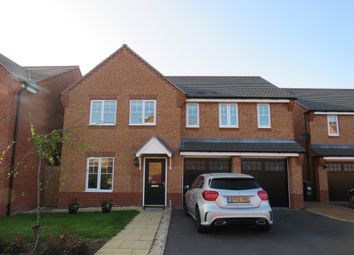 Thumbnail 5 bed detached house to rent in Brackley Crescent, Warwick