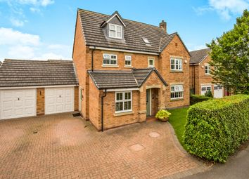 Thumbnail 5 bed detached house for sale in Wright Crescent, Ashbourne