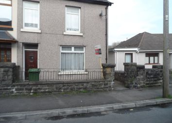 Thumbnail 4 bed semi-detached house for sale in Llewelyn Street, Trecynon, Aberdare