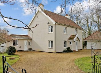 Thumbnail 3 bed detached house for sale in Laxfield Road, Stradbroke, Eye
