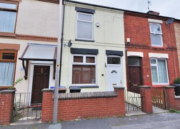 Thumbnail 2 bed terraced house for sale in Churchill Street, Heaton Norris, Stockport