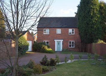 Thumbnail 4 bed detached house for sale in Bridgeside Close, Walsall