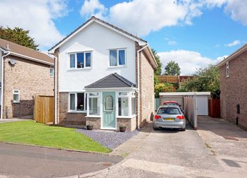 Thumbnail 3 bedroom detached house for sale in Croffta, Dinas Powys