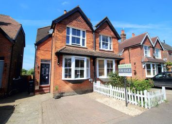 Thumbnail 2 bed semi-detached house for sale in Trindles Road, South Nutfield, Redhill