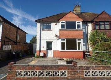 Thumbnail 3 bed property to rent in Brampton Road, Eastbourne