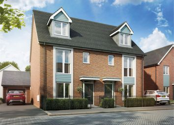 Thumbnail 4 bed semi-detached house for sale in Plot 168 The Becket, Glan Llyn, Newport