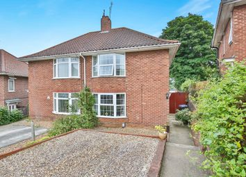 Thumbnail 2 bedroom semi-detached house for sale in Jex Road, Norwich