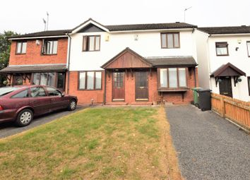 Thumbnail 2 bed end terrace house for sale in St. Hughs Close, Prenton