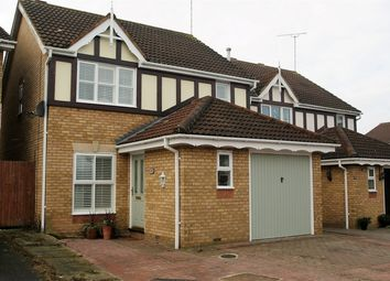 Thumbnail 3 bed detached house for sale in Heathcote Gardens, Church Langley, Harlow