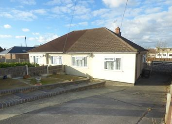 Thumbnail 2 bed semi-detached house to rent in Hambro Avenue, Rayleigh