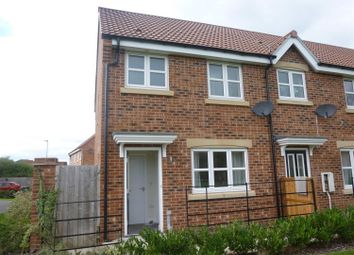 Thumbnail 2 bed end terrace house for sale in Pinter Lane, Gainsborough