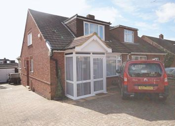 Thumbnail 3 bed semi-detached bungalow for sale in Linden Lea, Portchester, Fareham