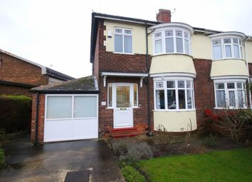 Thumbnail 3 bed semi-detached house for sale in Neasham Road, Darlington