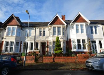 Thumbnail 4 bed terraced house for sale in Pen-Y-Lan Terrace, Penylan, Cardiff