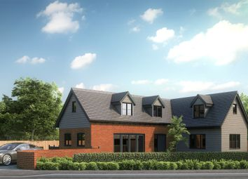 Thumbnail 3 bed detached house for sale in Church Road, North Waltham, Basingstoke