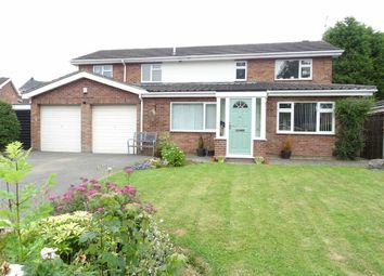 Thumbnail 4 bed detached house for sale in Manor Close, Burbage, Hinckley