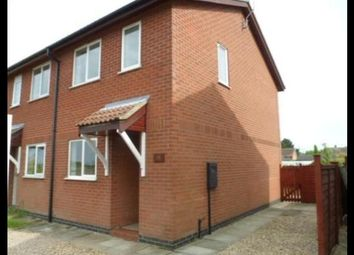 Thumbnail 2 bed semi-detached house to rent in La Milesse Way, Swineshead, Boston