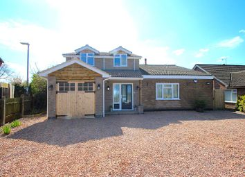 Thumbnail 4 bed detached bungalow for sale in Uppingham Road, Houghton-On-The-Hill, Leicester