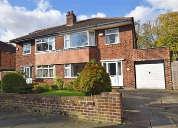 Thumbnail 3 bed semi-detached house for sale in Parrs Wood Road, East Didsbury, Manchester