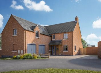 Thumbnail 5 bed detached house for sale in Normanton Road, Packington