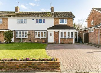 Thumbnail 3 bed semi-detached house for sale in Falconwood Road, Addington, Croydon
