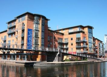 Thumbnail 1 bed flat to rent in Canal Wharf, Birmingham