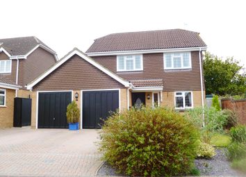 Thumbnail 4 bedroom detached house for sale in Lamora Close, Swindon