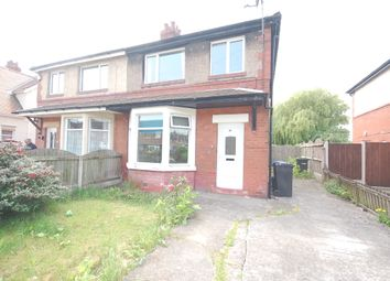 Thumbnail 3 bed semi-detached house to rent in Highbury Avenue, Fleetwood, Lancashire