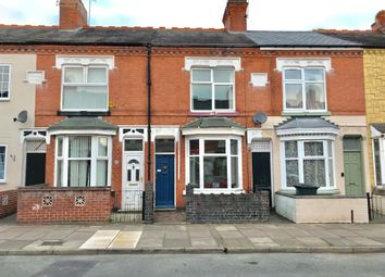 Thumbnail 2 bedroom terraced house for sale in Sylvan Street, Leicester