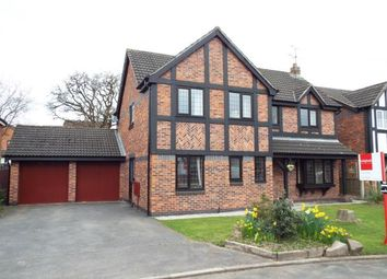 Thumbnail 4 bed detached house for sale in Oakhurst Drive, Crewe, Cheshire