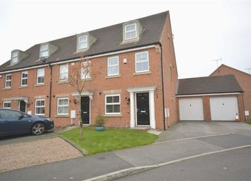 Thumbnail 3 bed town house for sale in James Street, Leabrooks, Alfreton