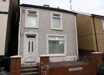 Thumbnail 3 bed detached house for sale in Dyke Street, Twynyrodyn, Merthyr Tydfil