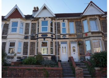 Thumbnail 3 bed terraced house for sale in Grove Park Road, Brislington