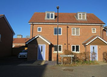 Thumbnail 3 bed semi-detached house for sale in Kingfisher Close, Coventry