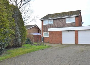 Thumbnail 4 bed detached house for sale in Burgess Way, Henlow