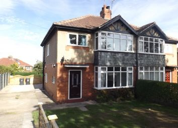 Thumbnail 3 bed property to rent in The Crescent, Green Hammerton, York