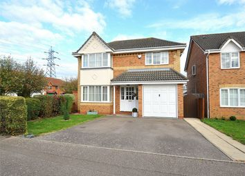 Thumbnail 4 bed detached house for sale in Stickle Close, Stukeley Meadows, Huntingdon, Cambridgeshire