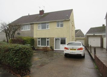 Thumbnail 3 bed semi-detached house to rent in Cae Newydd Close, Michaelston-Super-Ely, Cardiff