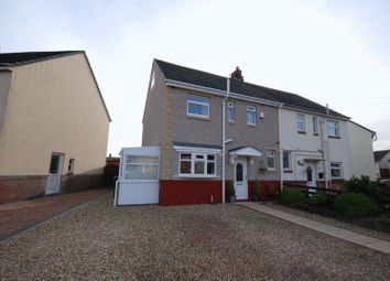 Thumbnail 3 bed semi-detached house for sale in River Bank East, Stakeford, Choppington